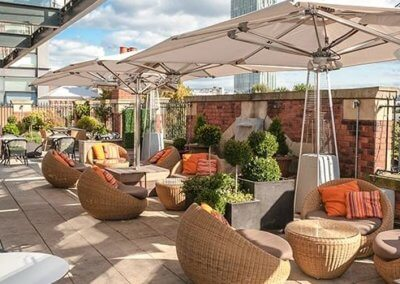 5 Great John Street Hotel Roof Terrace